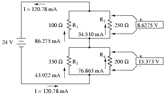 analysis techniques for series parallel resistor circuits series Parallel Circuit Diagram as a final check of our work, we can see if the calculated current values add up as they should to the total since r1 and r2 are in parallel,