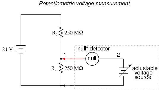 voltmeter impact on measured circuit dc metering circuits rh allaboutcircuits com Light Switch Wiring Diagram Basic Electrical Wiring Diagrams