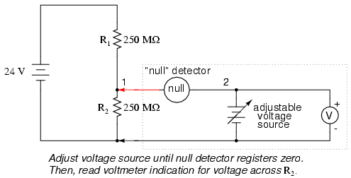 voltmeter impact on measured circuit dc metering circuits rh allaboutcircuits com