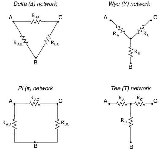 Y And Y Conversions Dc Network Analysis