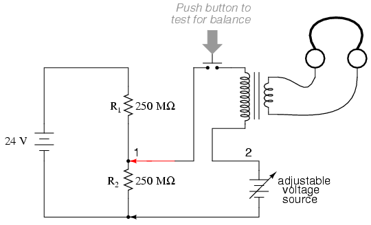 voltmeter impact on measured circuit dc metering circuits rh allaboutcircuits com Light Switch Wiring Diagram Basic Electrical Schematic Diagrams