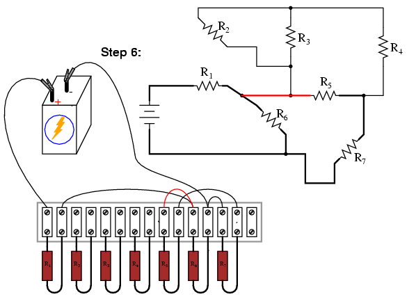 Building Series-Parallel Resistor Circuits | Series-parallel ...