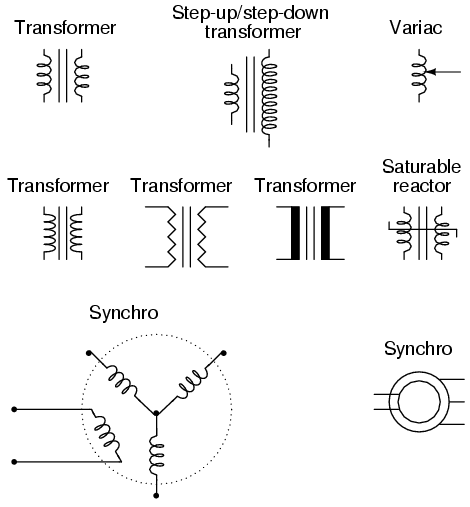 Mutual Inductors | Circuit Schematic Symbols | Electronics Textbook