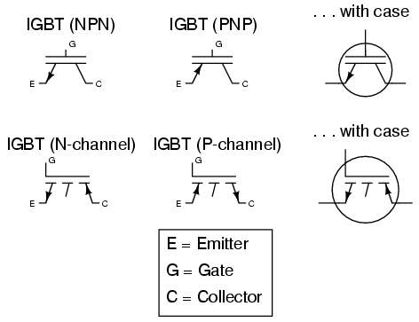 Transistors, Hybrid | Circuit Schematic Symbols | Electronics Textbook