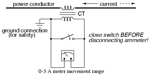 Current Transformer Schematic - Wiring Diagram