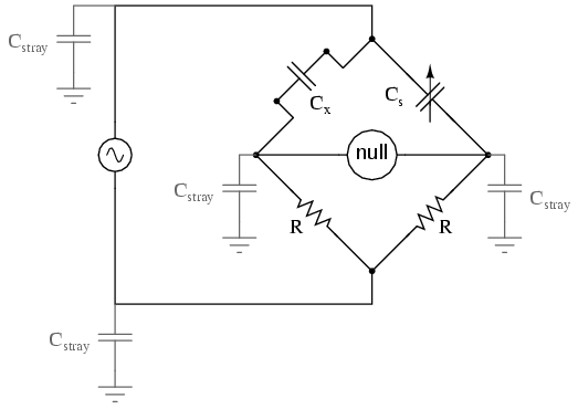 ac bridge circuits