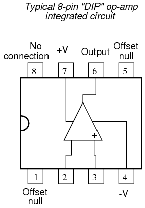 The Operational  lifier on dual amplifier wiring diagram