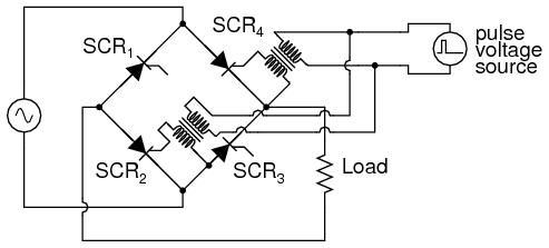the silicon controlled rectifier (scr) thyristors electronics