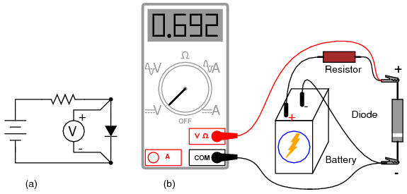 extech wiring diagrams meter check of a diode diodes and rectifiers  meter check of a diode diodes and rectifiers