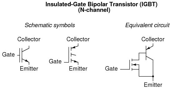 Igbts Insulated Gate Field Effect Transistors Electronics Textbook
