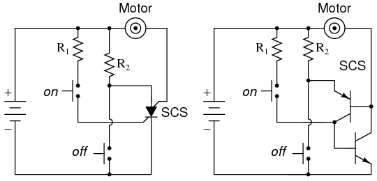 Terrific The Silicon Controlled Switch Scs Thyristors Electronics Textbook Wiring 101 Akebretraxxcnl