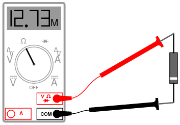 Ohmmeter Equipped With A Low Test Voltage Too To Forward Bias Diodes Does Not See