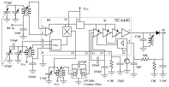 radio circuits practical analog semiconductor circuits am radio circuit amplifier circuits practical analog