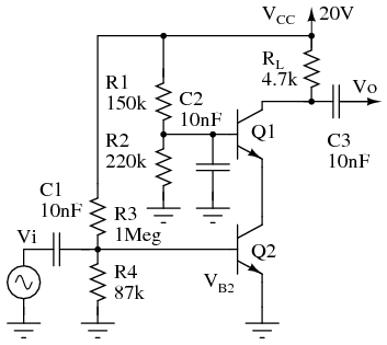 Radio circuits practical analog semiconductor circuits class a cascode small signal high gain amplifier publicscrutiny Gallery