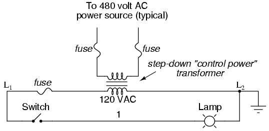 the actual transformer or generator supplying power to this circuit is  omitted for simplicity  in reality, the circuit looks something like this: