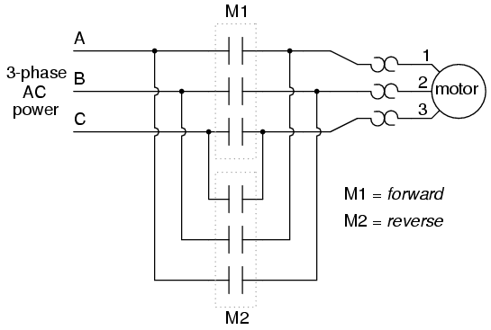 Permissive Interlock Circuits on single phase motor start switch for motors