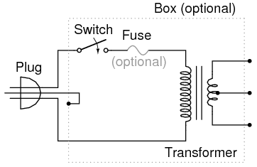 transformer power supply ac circuits electronics textbook working principle of transformer pdf at Transformer Schematic Diagram