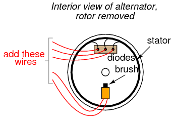 Automotive Alternator besides Onewire Threewire2 together with 3 Wire Alternator Wiring Schematic furthermore Alternator 10576 besides . on delco generator diagram