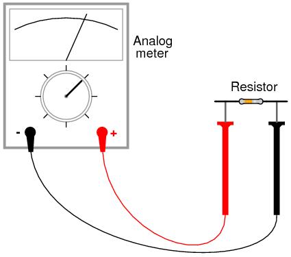 طريقة القياس  -- جهاز الملتيميتر 05040