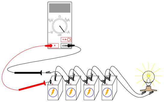 Parallel Batteries Dc Circuits Electronics Textbook