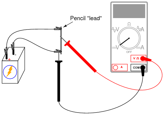 Potentiometer as a Voltage Divider DC Circuits