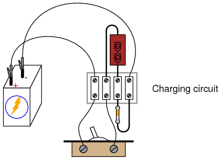 capacitor charging and discharging dc circuits electronics textbookillustration of the experiment