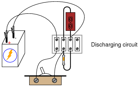 capacitor charging and discharging dc circuits electronics textbook rh allaboutcircuits com capacitor charging circuit schematic capacitor charging circuit using ir2110