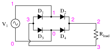 05187 full wave bridge rectifier discrete semiconductor circuits wiring diagram bridge rectifier at edmiracle.co