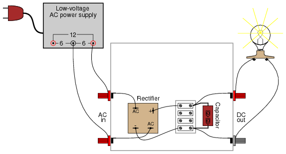 rectifier  filter circuit