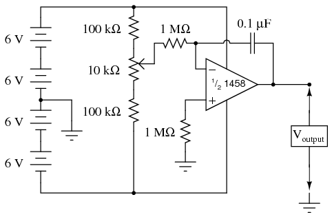6 on integrator amplifier circuit diagram