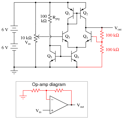 Strange Simple Op Amp Discrete Semiconductor Circuits Electronics Textbook Wiring Digital Resources Unprprontobusorg