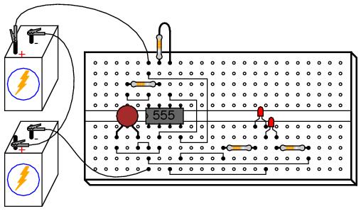 555 Audio Oscillator | Analog Integrated Circuits
