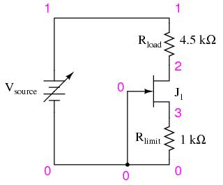 JFET Current Regulator   Discrete Semiconductor Circuits
