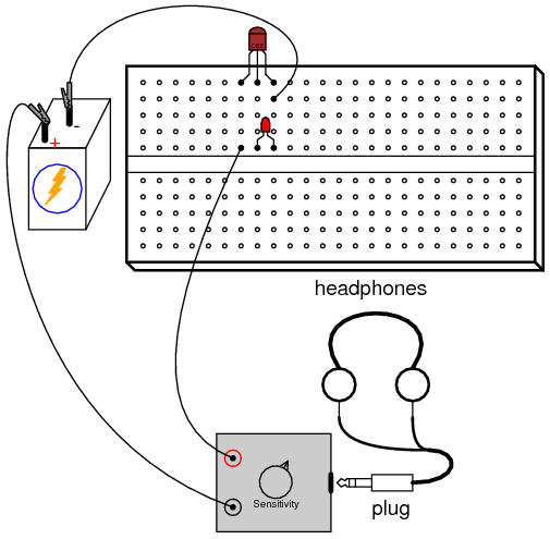 Pulsed-light Sensor | Discrete Semiconductor Circuits | Electronics ...