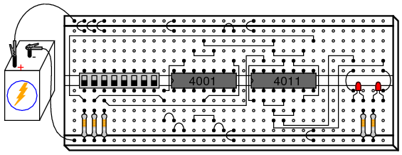 logic diagram logic gates nand    gate s    r flip flop digital integrated circuits  nand    gate s    r flip flop digital integrated circuits