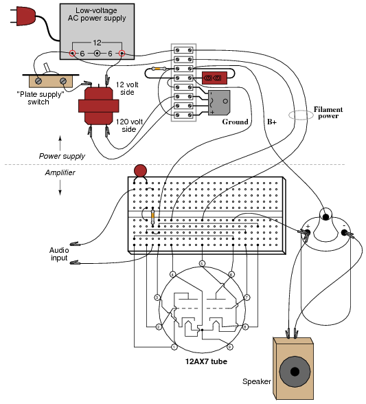 on headphone amp schematic