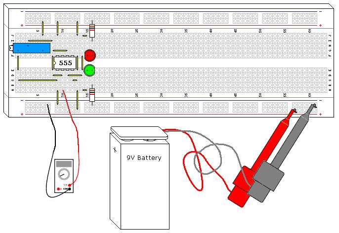 555 Schmitt Trigger 555 Timer Circuits Electronics