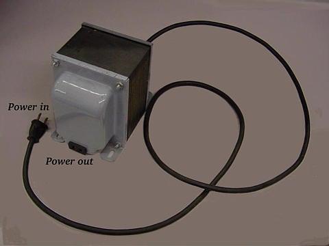 Isolation Transformer Principle Isolation Transformer Isolates