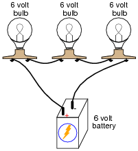 Series Parallel  bination Circuits on parallel circuit batteries
