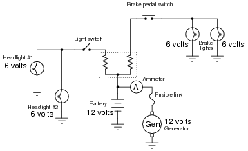 how to connect dc series circuit