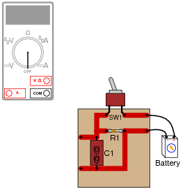 Superb Basic Ohmmeter Use Basic Electricity Worksheets Wiring Digital Resources Aeocykbiperorg