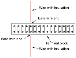Terminal Block Schematic Wiring Schematic Diagram
