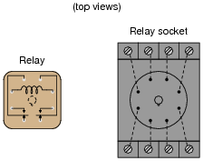 basic electromagnetic relays basic electricity worksheets draw the necessary connecting wires between terminals in this circuit so that actuating the normally open pushbutton switch will energize the relay