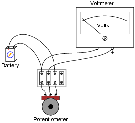 Potentiometers on wiring a potentiometer for motor