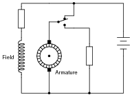 Dc motor control circuits dc electric circuits worksheets identify the method of electrical braking used in this motor control circuit sciox Images