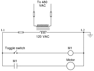 X on part winding starter wiring diagram