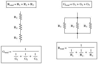 relationship of current and voltage resistors connected in series parallel circuit