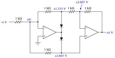 Precise Diode Circuits Analog Integrated Circuits Worksheets