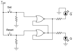 latch circuits digital circuits worksheets Relay Switch Diagram when the student powers up this circuit, she notices something strange sometimes the latch powers up in the set state (q high and [q] low),
