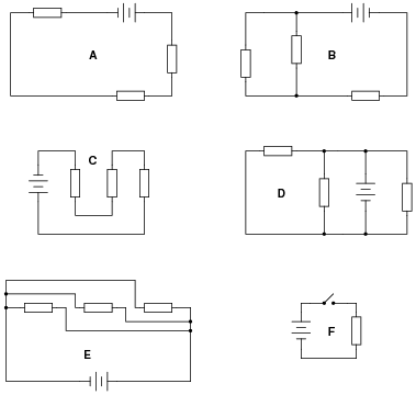Parallel DC Circuits | Basic Electricity Worksheets